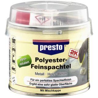PRESTO Polyester Feinspachtel 250g