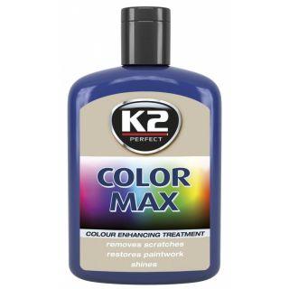 K2 Color max Farbwachs mit Carnauba Blau 200ml