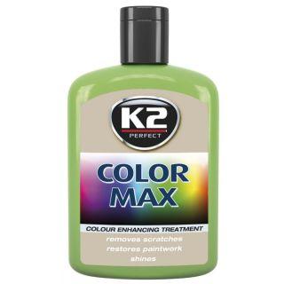 K2 Color max Farbwachs mit Carnauba Hellgrün 200ml