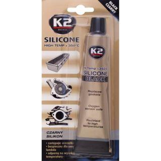 K2 Hochtemperatur Silikon +350°C schwarz 85g