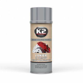 K2 BREMSSATTELLACK 400 ML SILBER