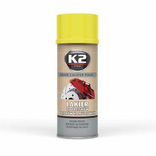 K2 BREMSSATTELLACK 400 ML GELB