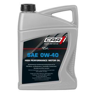 CAR1 - Motorenöl 0W-40 5L