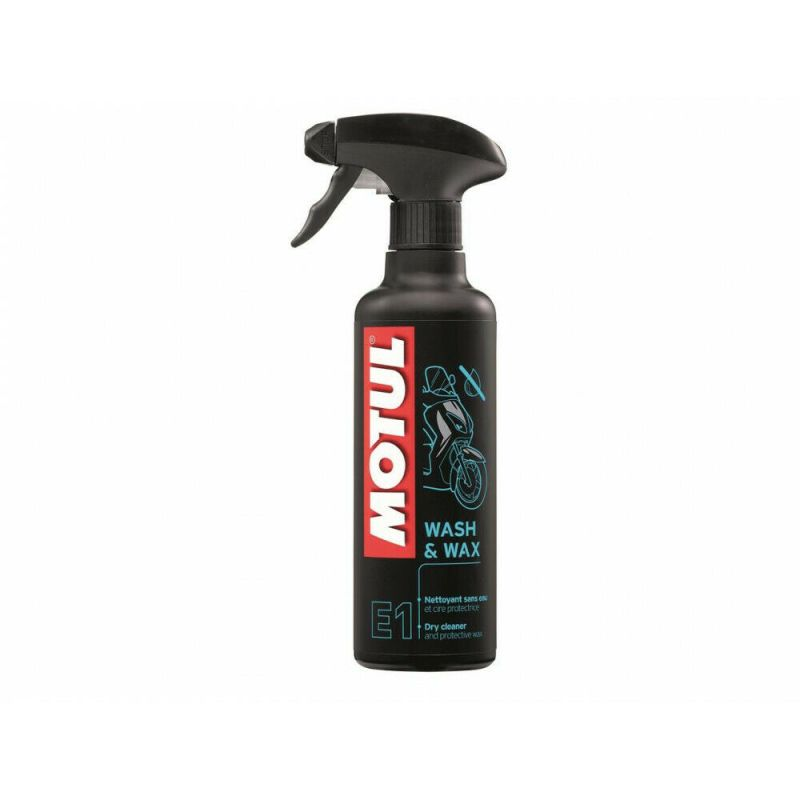 MOTUL MC CARE E1 Wash & Wax Trockenreiniger 400ml