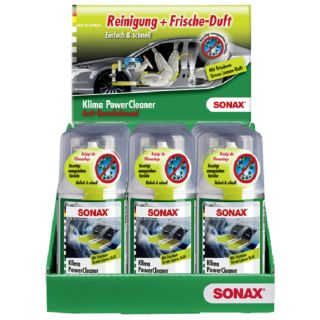 SONAX Klima Powercleaner Green Lemon Klimareiniger 100ml